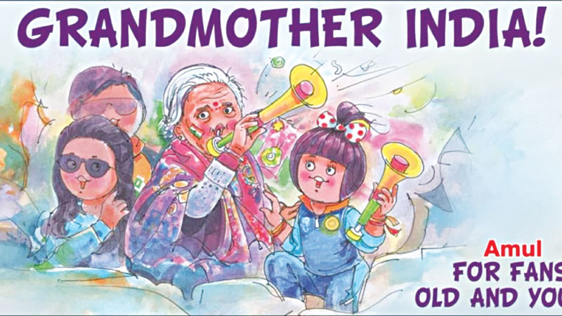 Is Charulata the best option to represent Amul ?
