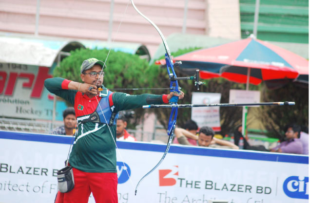 Ruman Shana finishes 10th in ranking round of men's recurve