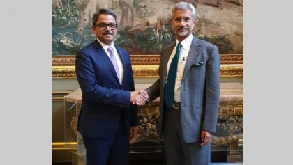 Shahriar meets Jaishankar in London