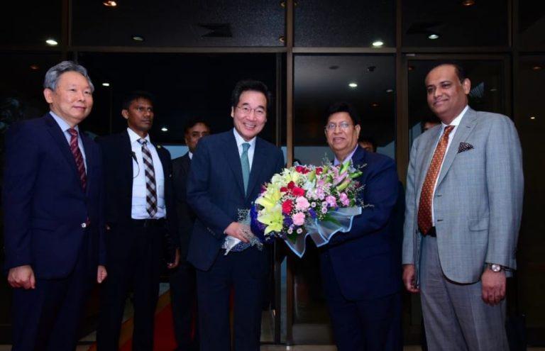 Korean PM in city; talks with Hasina Sunday