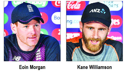 NZ face host England in WC final today