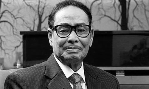 Ershad's 1st janaza at Cantonment Central Mosque