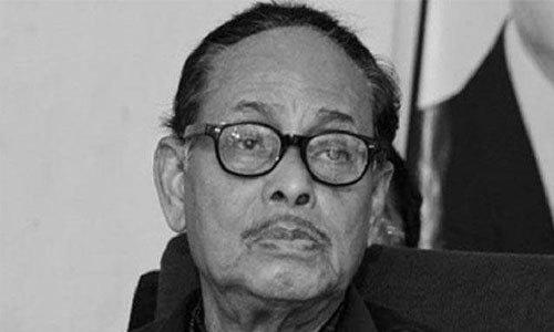 Ershad's body at Dhaka CMH
