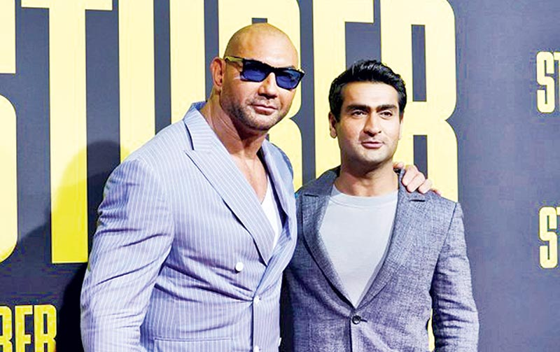 Dave Bautista, Kumail discuss taking on toxic masculinity in action movie 'Stuber'
