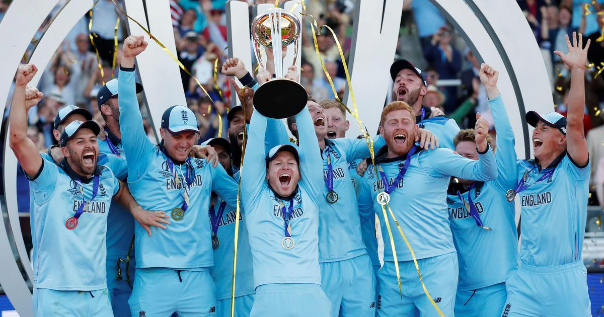 England win Cricket WC after super over drama
