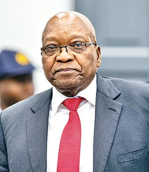 Zuma denies being 'king of corrupt people'