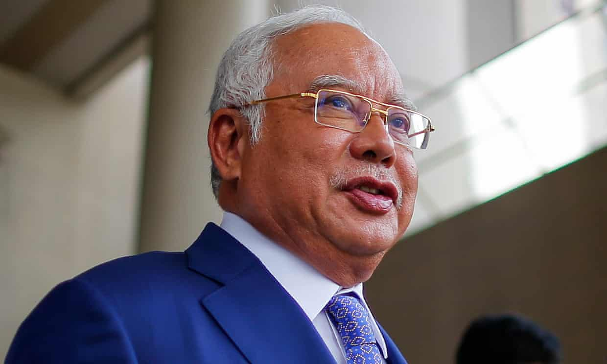 $800,000 spent at jeweller in one day on Najib Razak's credit cards