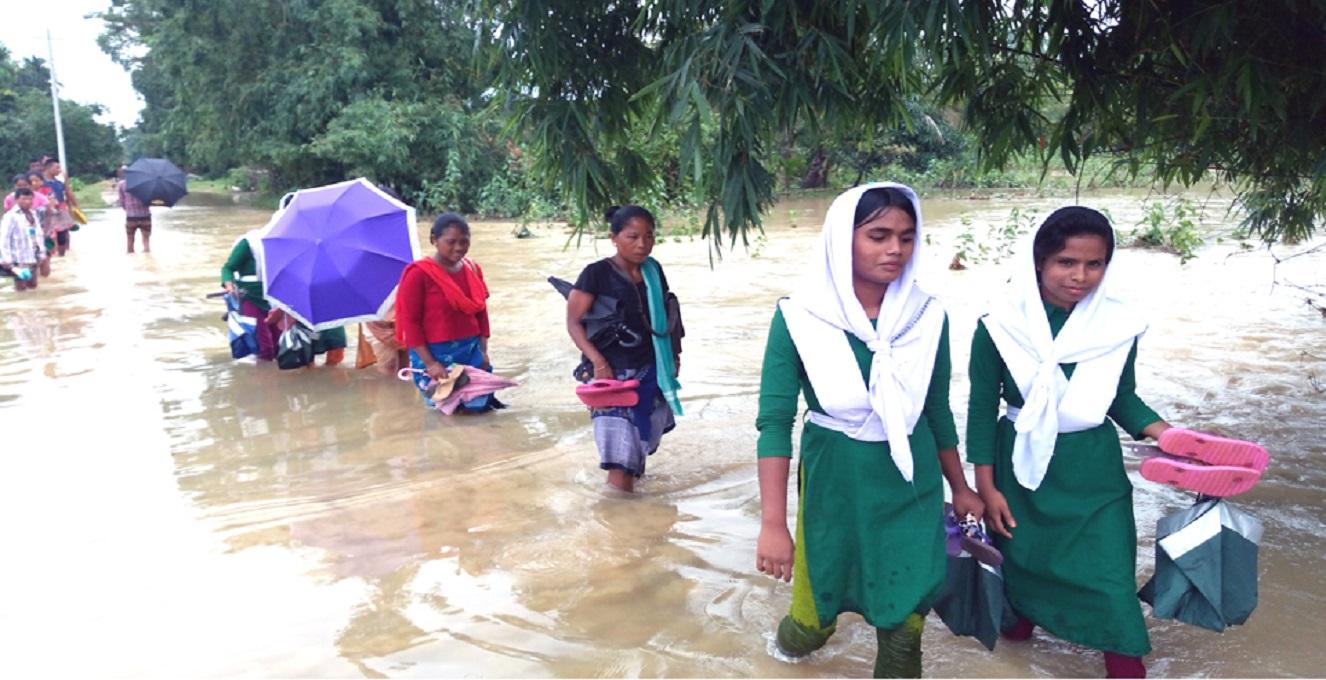 Fresh areas flooded in Kurigram