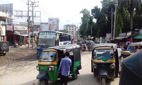 Bandarban road communication resumes