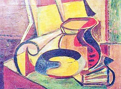 Shakir Ali's paintings: the mingling of souls and the meaning of love