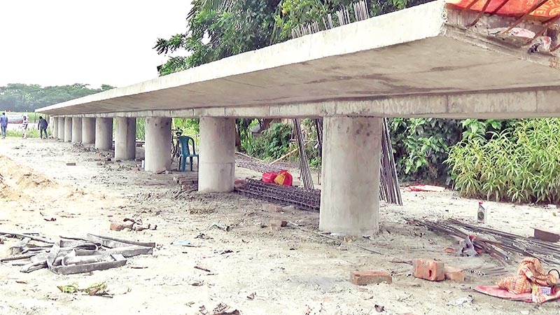 Construction of two Bangabandhu memorial ghats on in Gopalganj