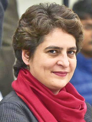Priyanka Gandhi detained on way to meet kin of UP firing victims