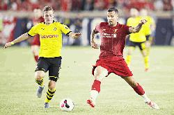 Dortmund sink Liverpool in US tour opener