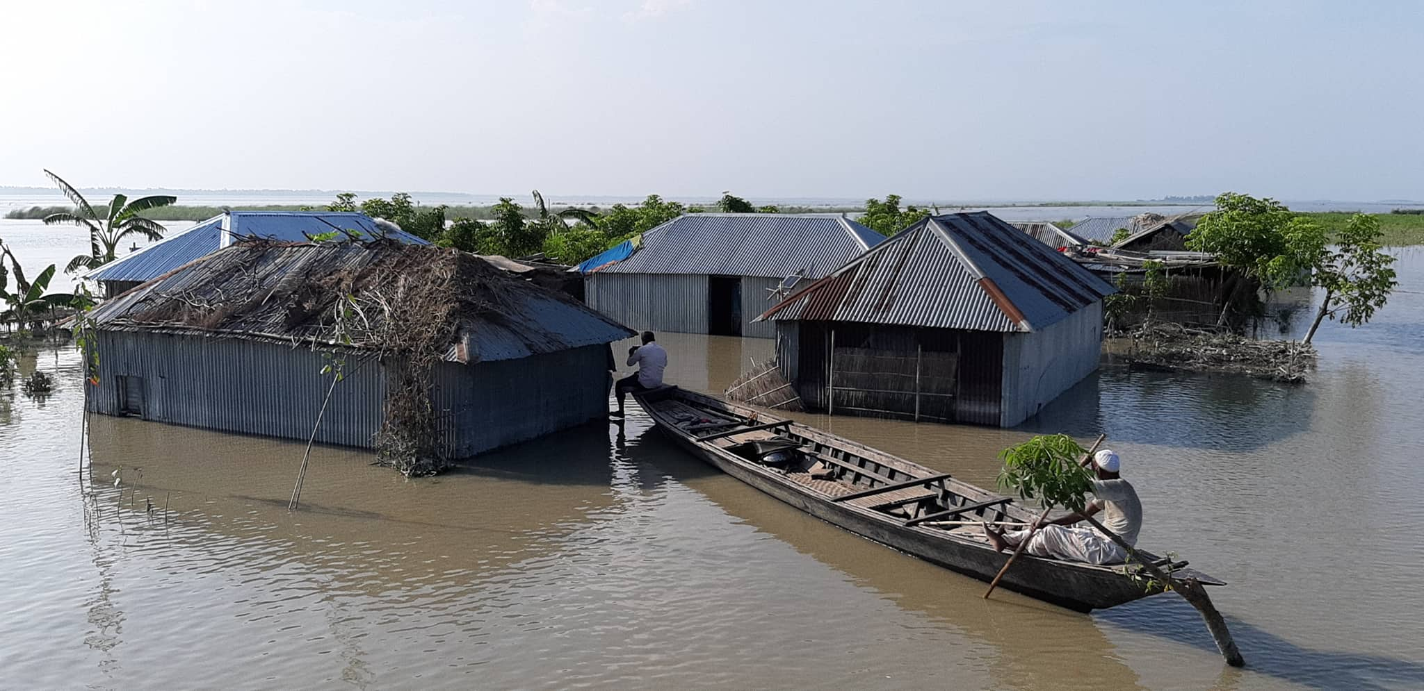 Flood situation slightly improved in Kurigram