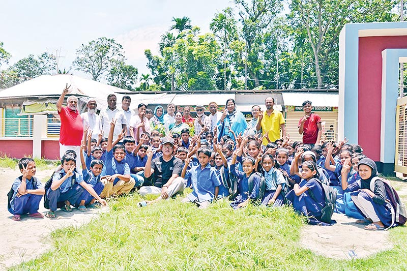 Rotary Club of Sonargaon Dhaka organised a series of events