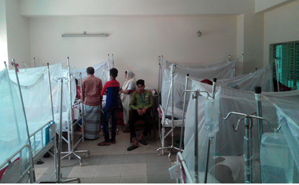Number of dengue patients rises after Eid day respite
