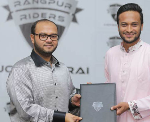 Shakib inks deal with Riders for BPL