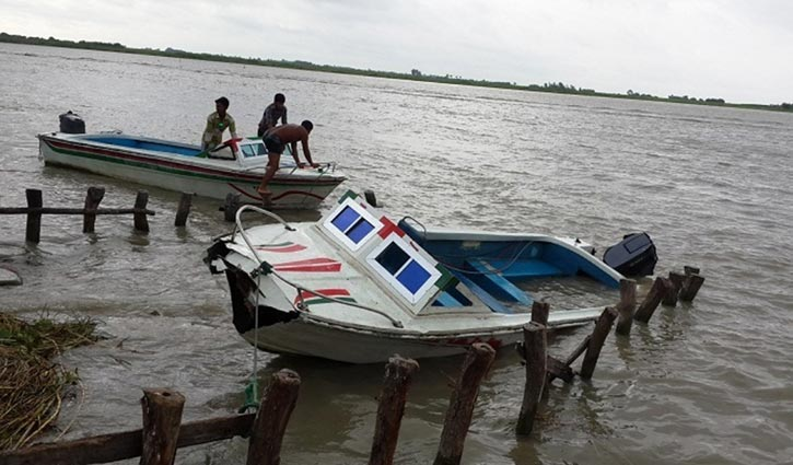 Minor missing after speed boat sinks in Padma