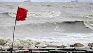 Maritime ports hoist warning signal 3
