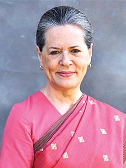 Sonia named interim Congress President