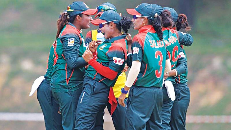 Bangladesh women to fly for WC qualifier today