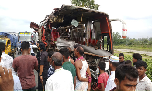 Road crashes kill 24, injure 77 in 9 dists