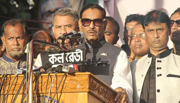 Quader alerts AL men to BNP-Jamaat conspiracies