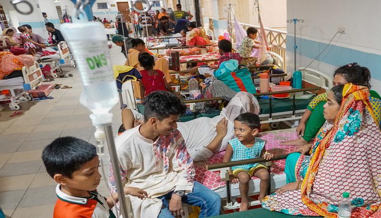 86% dengue patient returned home after treatment