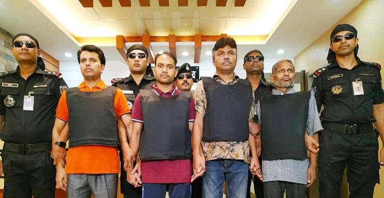 4 'Allahr Dal' members held