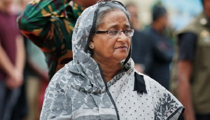 PM Hasina finds BNP regime's link in Aug 21 attack