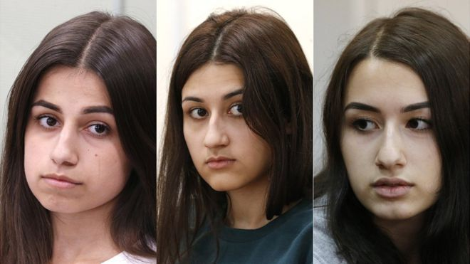 Abused sisters who killed father touch Russian hearts