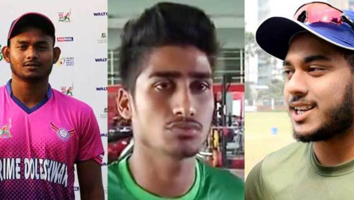 3 young cricketers injured in road accident
