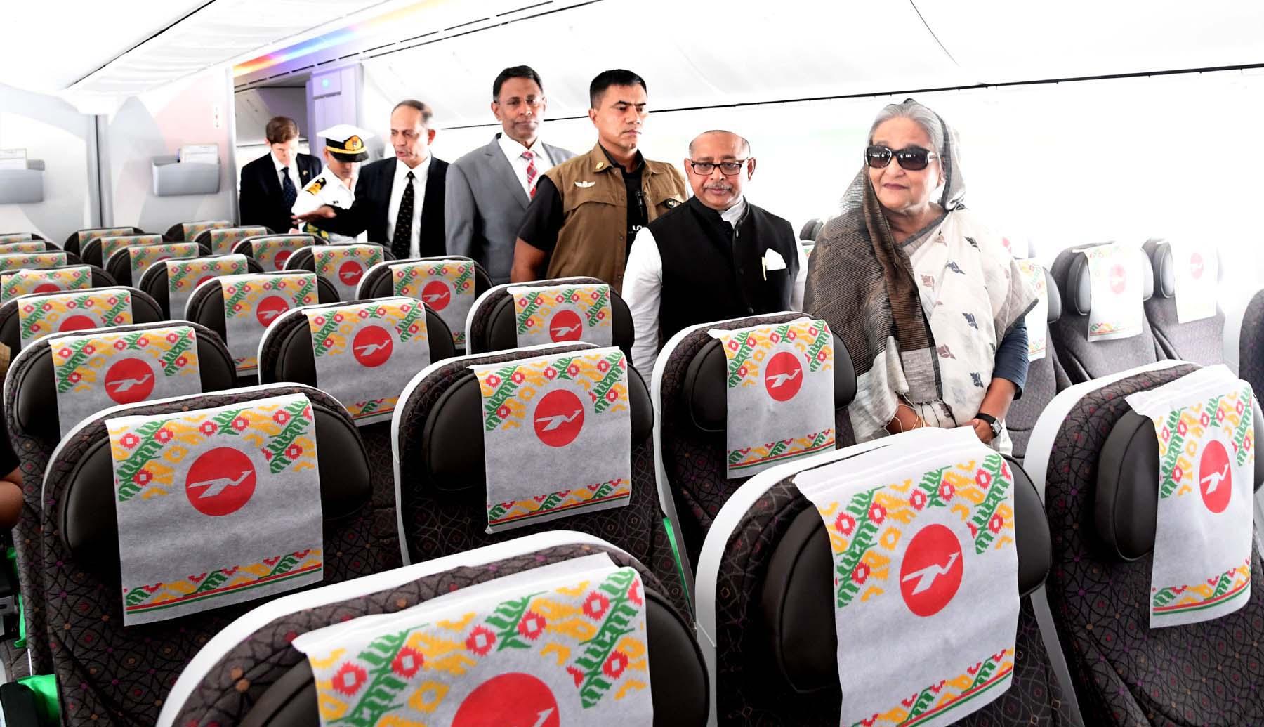 PM inaugurates third dreamliner 'Gaangchil'