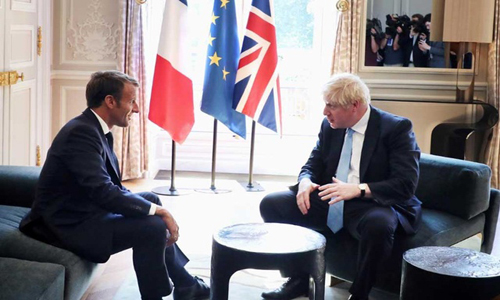 Too late for new Brexit deal, France's Macron tells Johnson