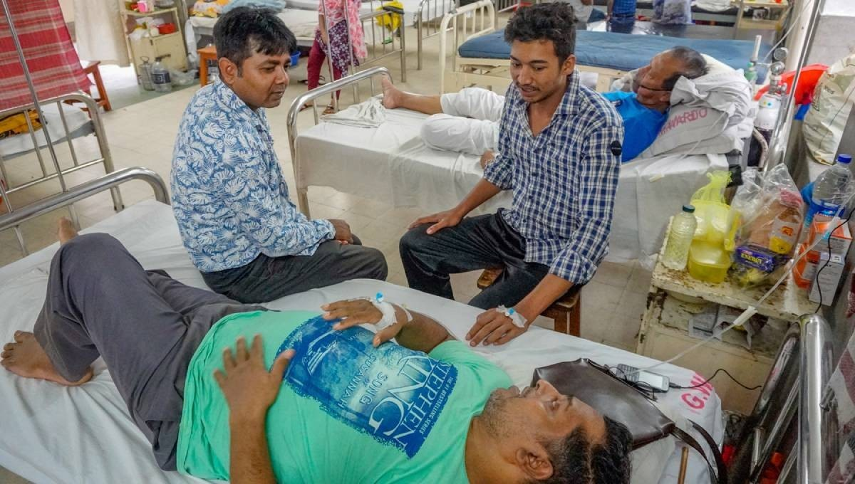 6,035 dengue patients undergoing treatment in country