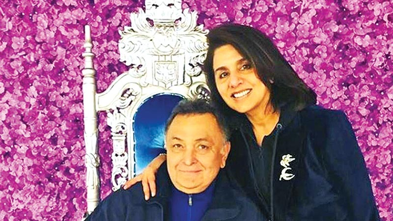 Neetu Singh says Rishi Kapoor 'became like my child' during cancer treatment