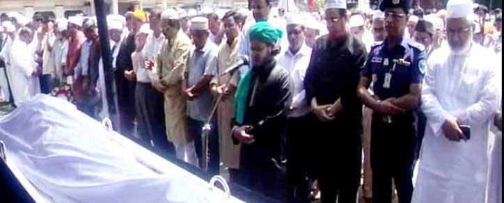 Muzaffar Ahmed's 3rd janaza held