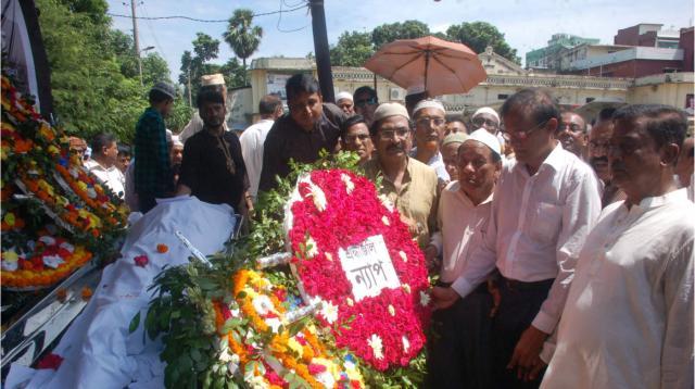 Prof Muzaffar laid to rest