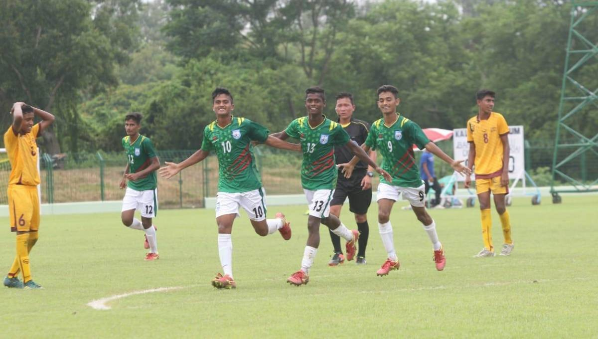 Bangladesh beat Sri Lanka 7-1