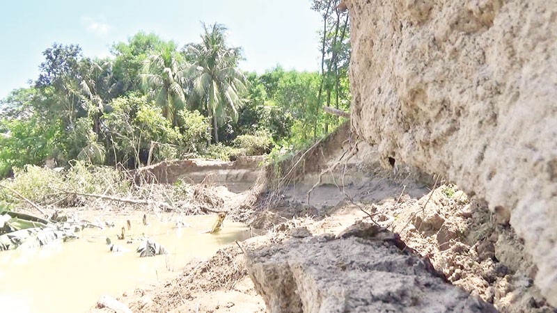 Continuous erosion by Madhumati changes map of Jalalabad Union in Gopalganj