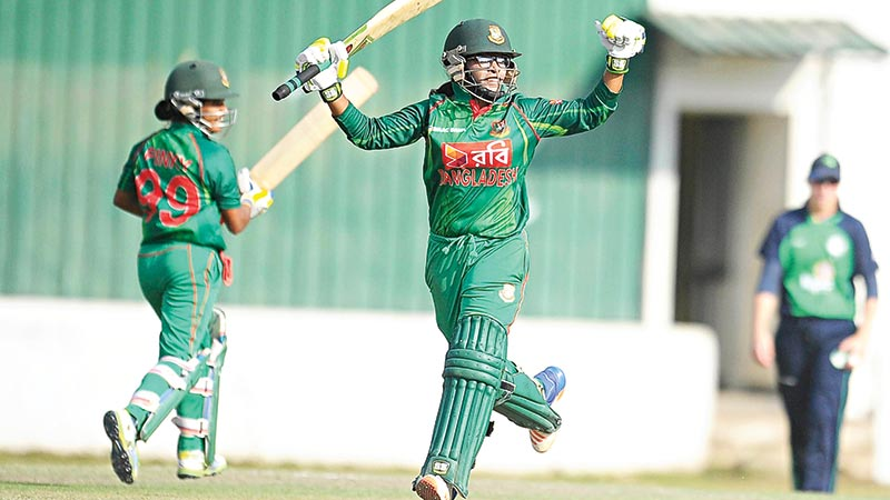 Tigresses berth in T20 World Cup beating Ireland in semifinal