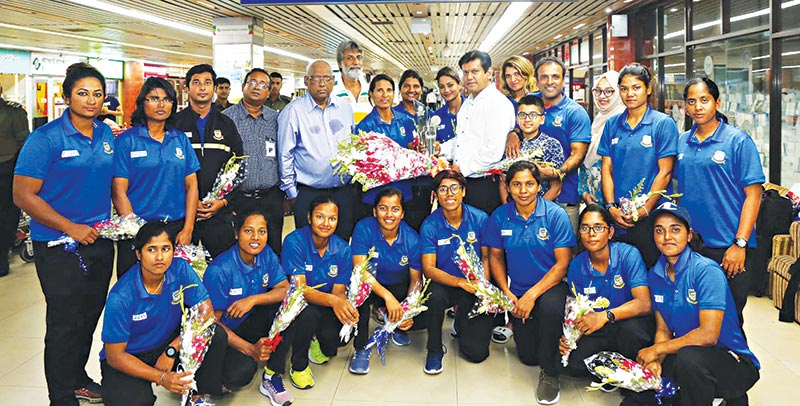 Qualifier Champion Tigresses return home