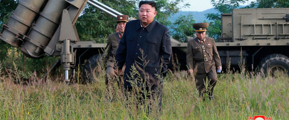 North Korea confirms test of large multiple rocket launcher