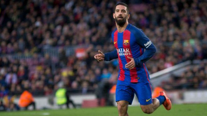 Barcelona footballer sentenced for firing gun