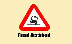 Man killed,17 injured in road accident
