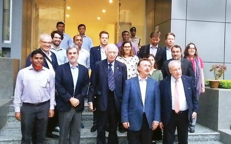 A 16-member delegation of German Asia-Pacific Business Association