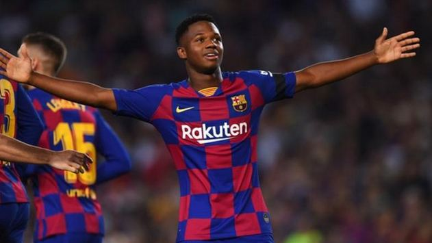 Fati, 16, scores as Barca beat Valencia