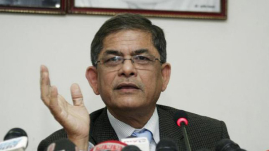 It's a 'puppet' regime of global players: Fakhrul