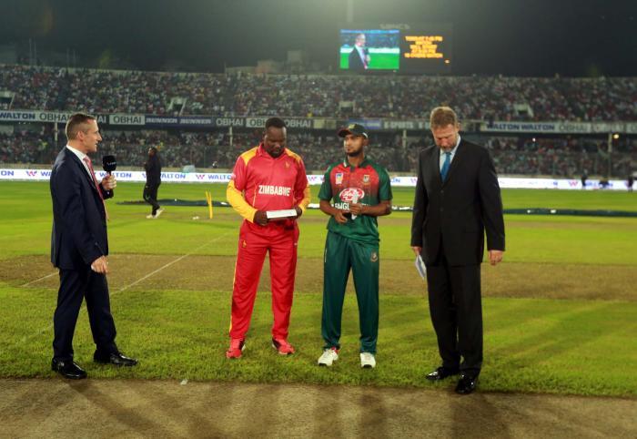 Bangladesh sent to bat first