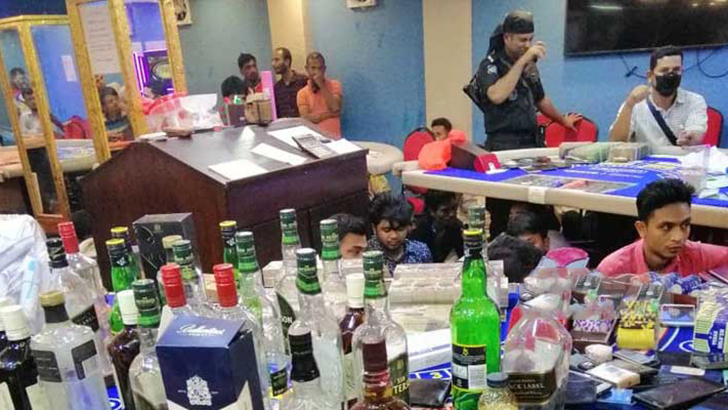 142 held from casino get jail terms